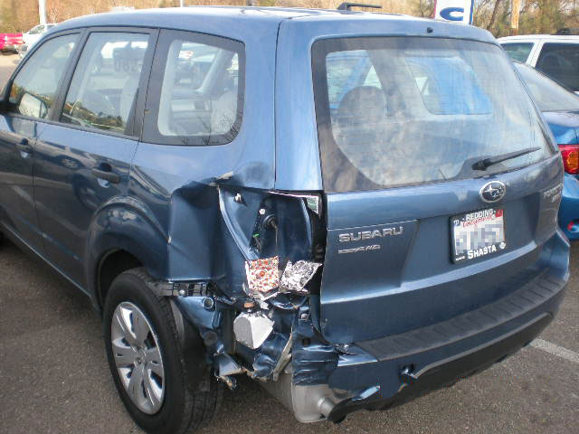 Photo of Damage Before Repair at SJ Denham, Auto Body Repair Shop in Redding, CA